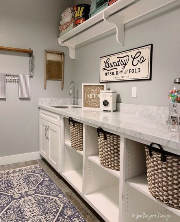 Best Laundry Room Organization36