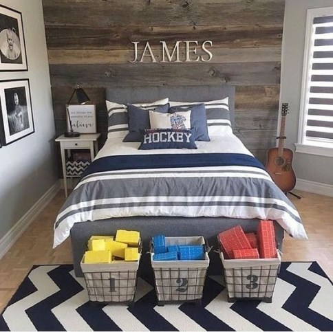 Cool Teenage Boy Room Decor14