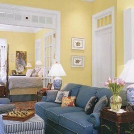 Extraordinary Yellow Living Room Ideas11
