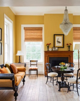 Extraordinary Yellow Living Room Ideas34