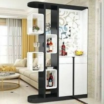 Modern Living Room Partition Ideas09