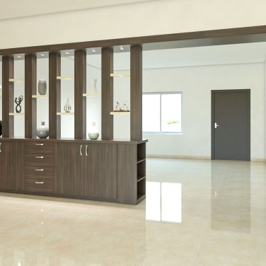 Modern Living Room Partition Ideas17