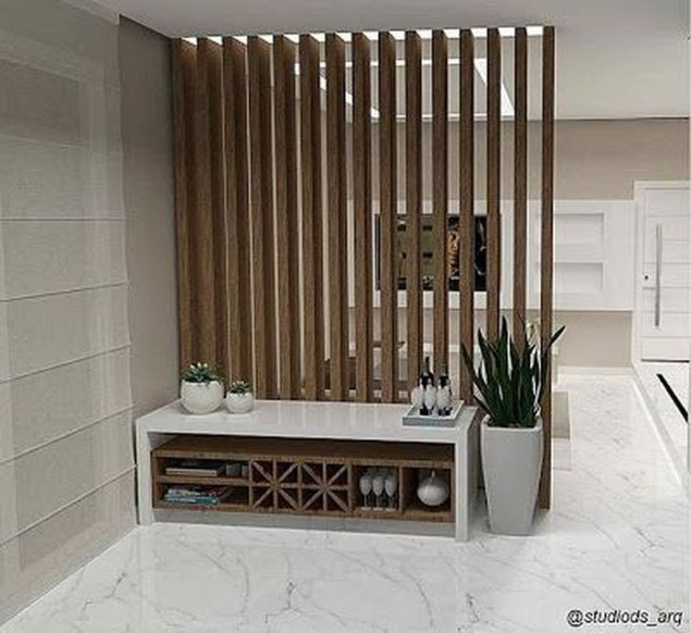 Modern Living Room Partition Ideas18
