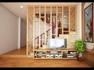 Modern Living Room Partition Ideas27