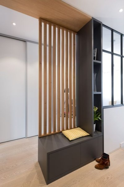 Modern Living Room Partition Ideas34
