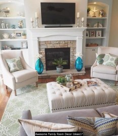 Awesome Family Room Decor Ideas17