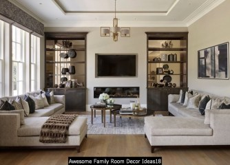 Awesome Family Room Decor Ideas18