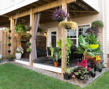 Lovely Backyard Garden Design Ideas24