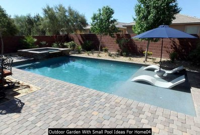 Outdoor Garden With Small Pool Ideas For Home04