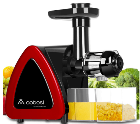 aobosi slow masticating juicer extractor compact cold press juicer machine