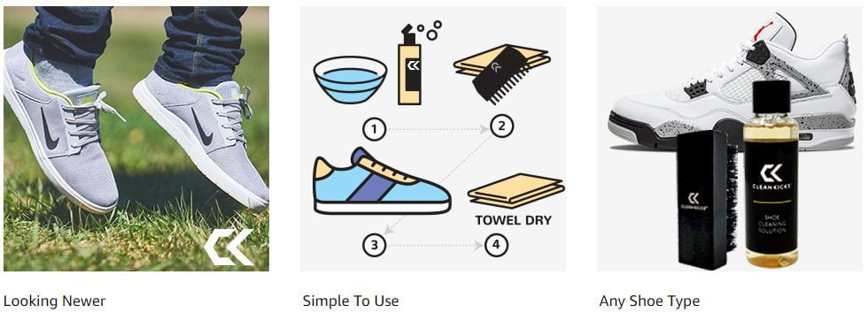 CleanKicks Shoe Cleaning Kit