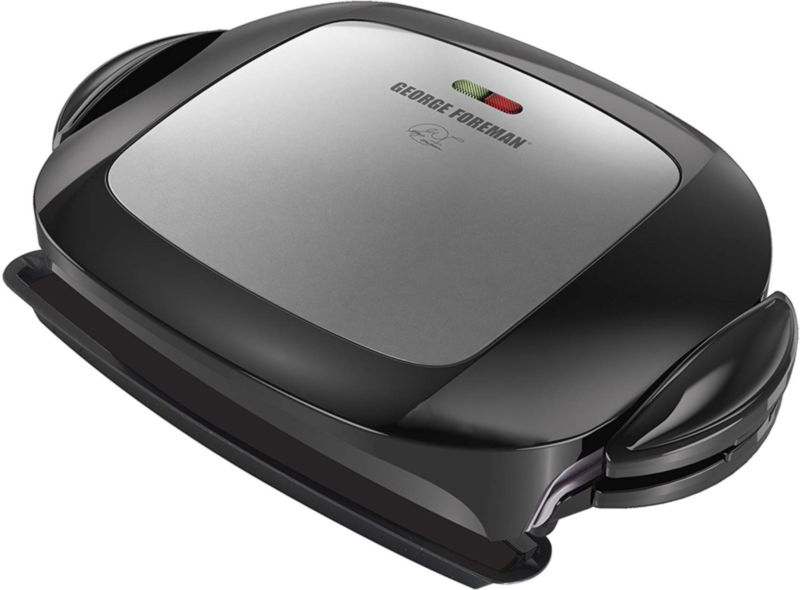 George Foreman 5-Serving Removable Plate Grill and Panini Press