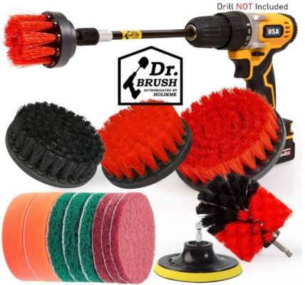 Drill Brush Attachments