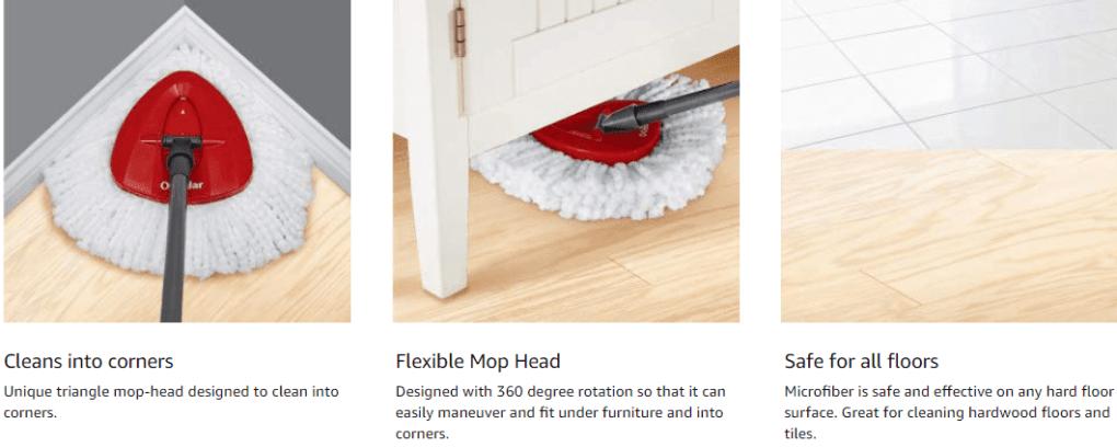 cedar spin mop