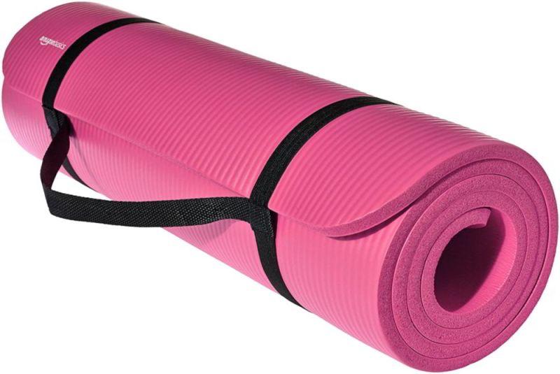 AmazonBasics Extra Thick Exercise Yoga Mat