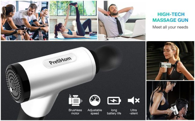 PretiHom Percussion Massage Gun
