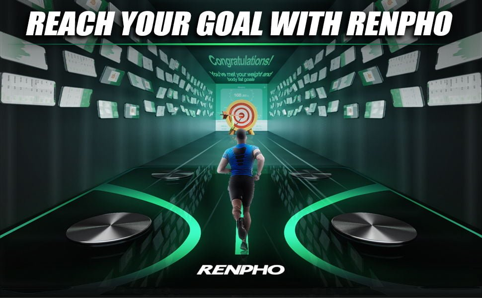 RENPHO Body Fat Scale - Smart Body Composition Analyzer