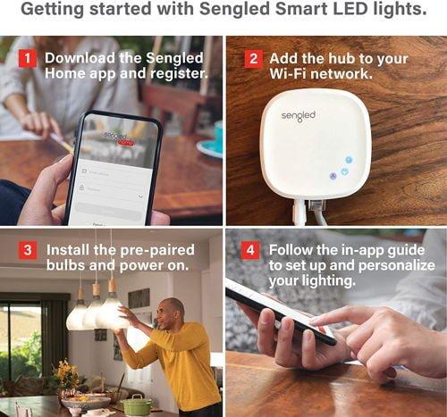 Sengled Smart Light Bulb Starter Kit