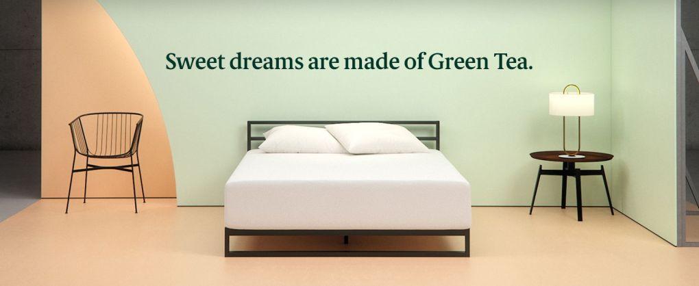 Zinus Memory Foam Green Tea King Size Mattress