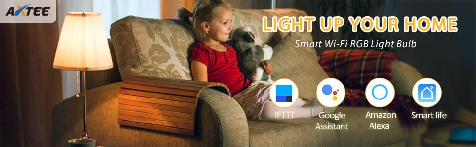 Axtee Best Smart Light Bulbs