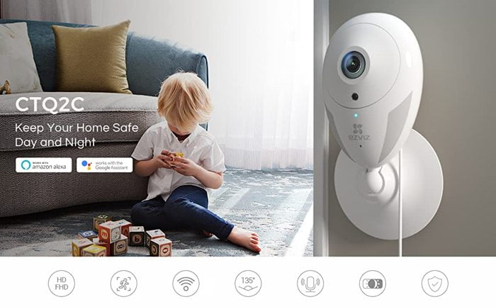 EZVIZ Smart Home WiFi Camra