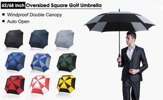 G4Free 62 Automatic Open Golf Umbrella