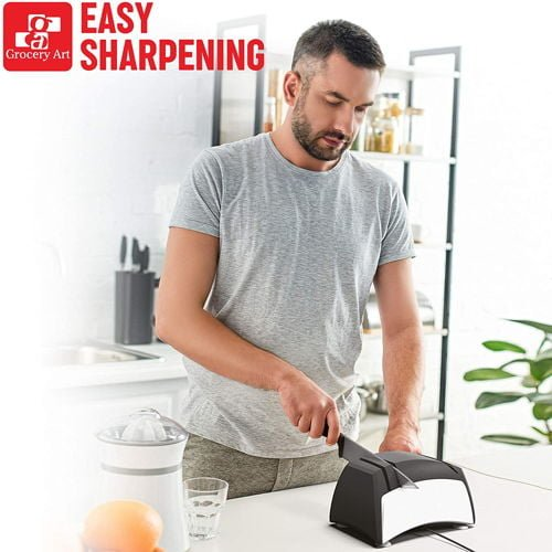 Grocery Art Knife Sharpener Electric 3 in 1 Tool 1