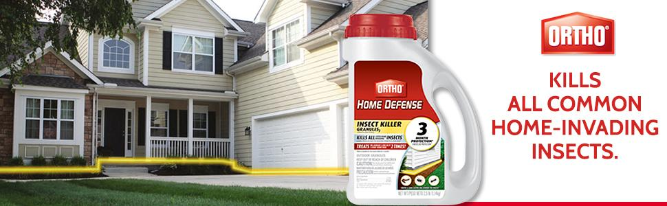Ortho Home Defense Insect Killer Granules 3 2.5 lbs