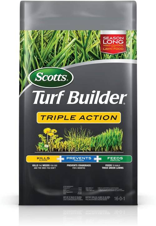 Scotts Turf Builder Kills Weeds