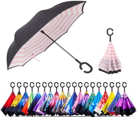 Smart Brella The Worlds First Reversible Umbrella
