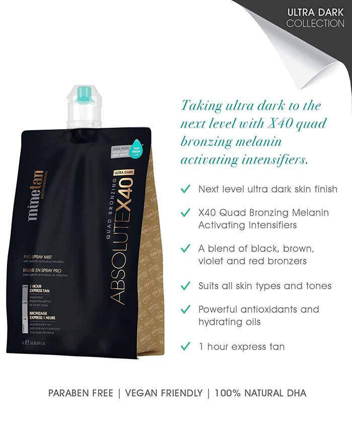 Minetan spray tan machine solution