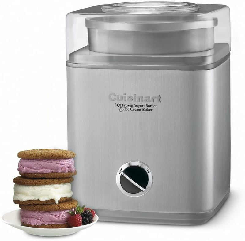 Cuisinart ICE 30BC Pure Indulgence soft serve ice cream machine reviews 1