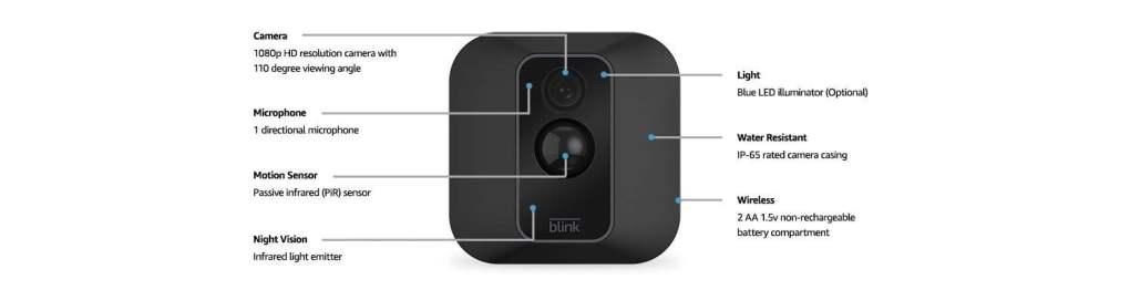 blink xt2 camera features