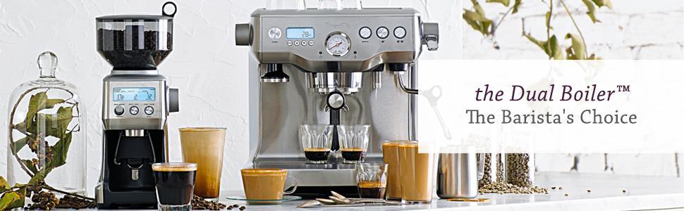 breville dual boiler home espresso machine