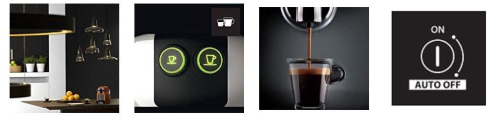 nespresso inissia features