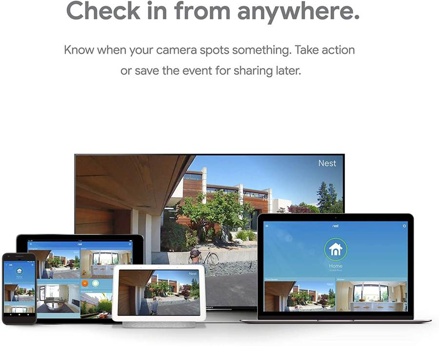 nest smart camera features