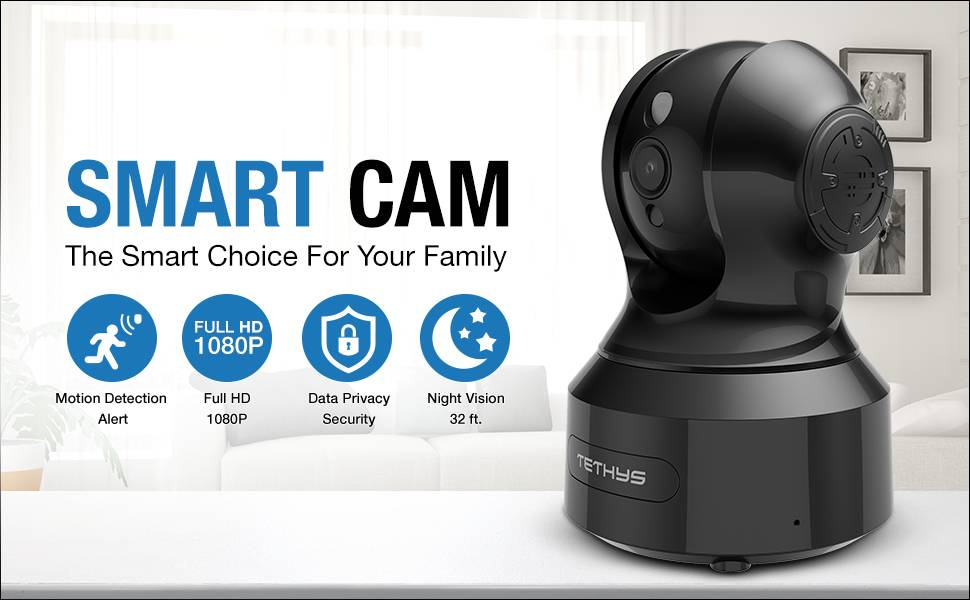 tethys smart home wifi camera