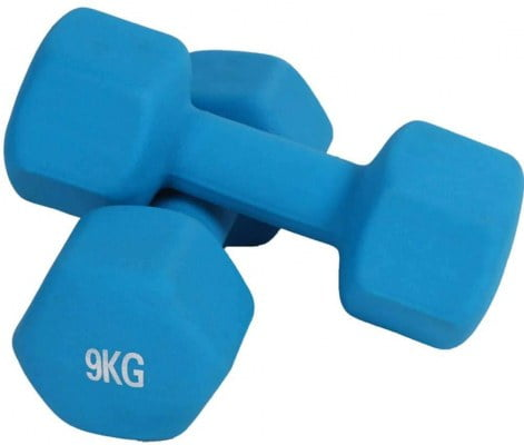 BEIGOO Neoprene Coated Dumbbell