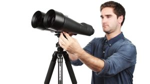 Who makes Celestron binoculars