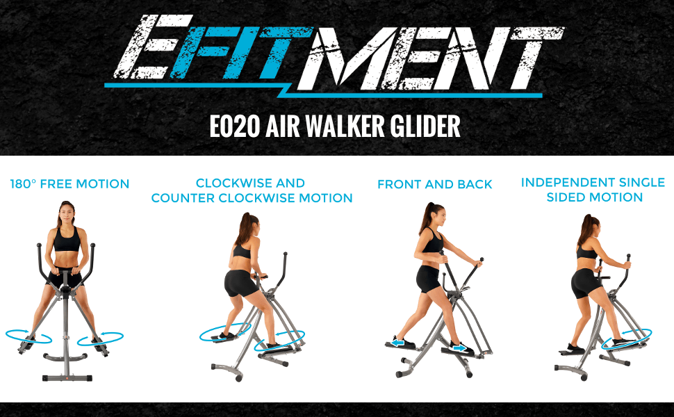 Air Walker Glider mini stepper Machine