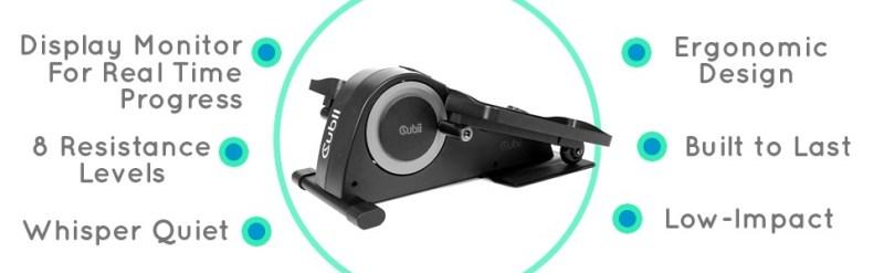 Cubii Jr exercise machine reviews features