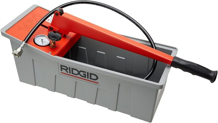 ridgid pressure test hydraulic pump parts