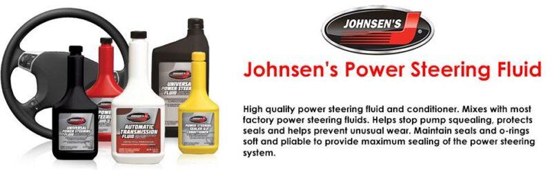 johnsens power steering fluid