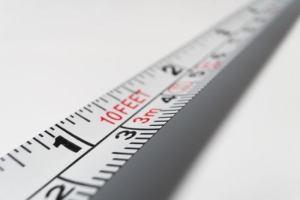 Stop smoking tape measure metaphor