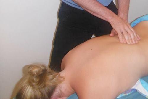 erotic sexy back massage