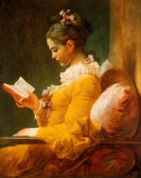 La Liseuse, by Fragonard, depicts the romance between book and reader.