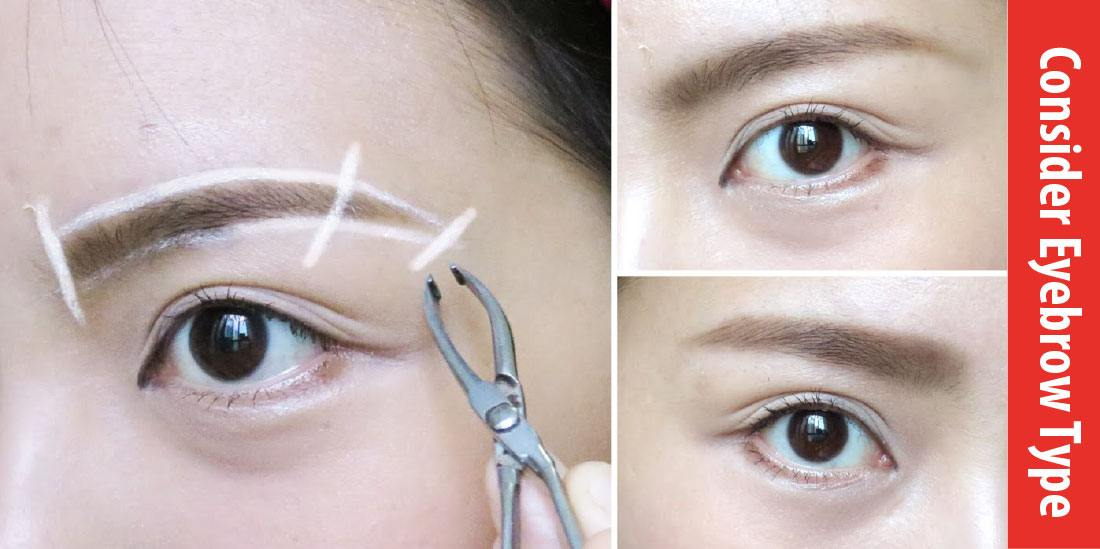 eyebrow razor before and after. how to use eyebrow razor before and after