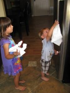 kids clean