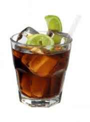 rum and diet