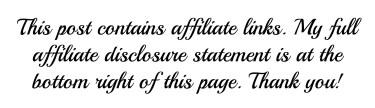 affiliate link statement